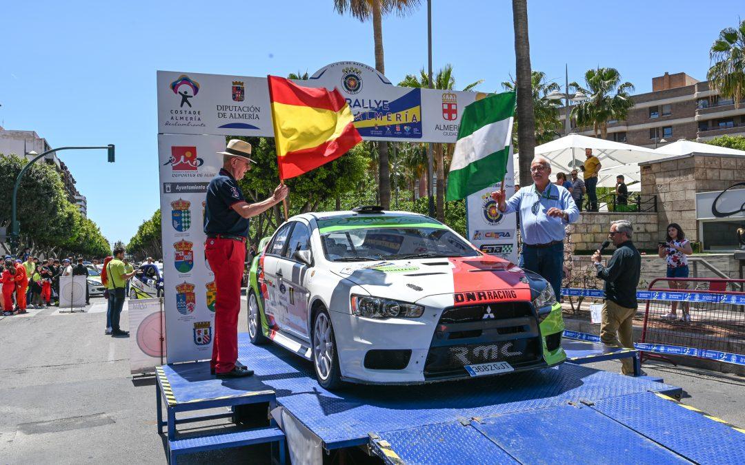 Final de la primera etapa del XLV Rallye Costa de Almería